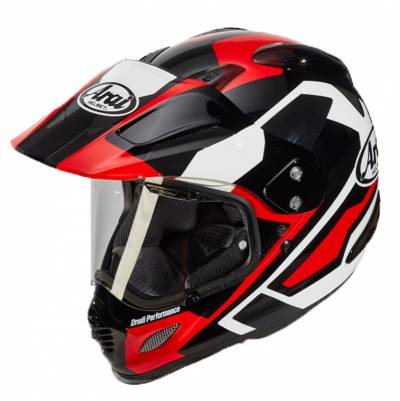 Arai Helm Tour-X4 Catch Red, rot-schwarz-weiß