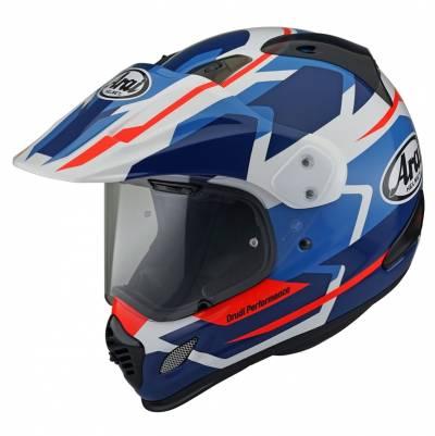 Arai Helm Tour-X4 Depart Blue, blau-weiß-rot