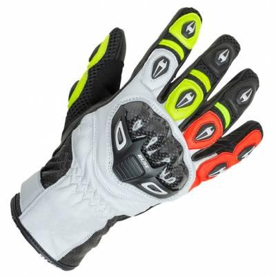 Büse Airway Handschuhe, rot-gelb