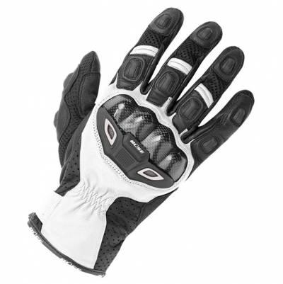 Büse Airway Handschuhe, schwarz-weiß