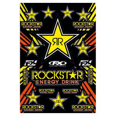 Büse Aufkleber FX Rockstar