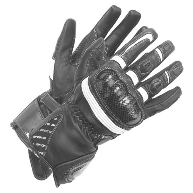 Büse Handschuhe Misano Lady, weiß-schwarz