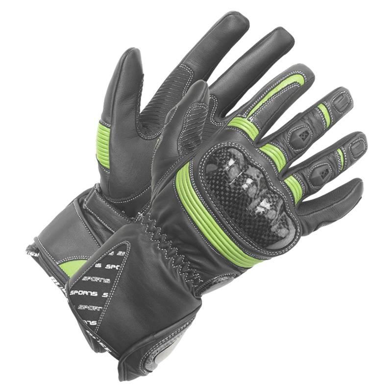 Büse Handschuhe Misano, schwarz-grün