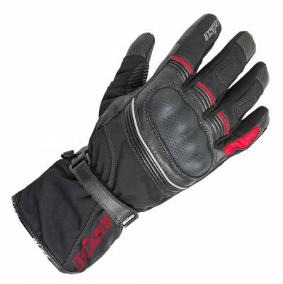 Büse Handschuhe Toursport, schwarz-rot
