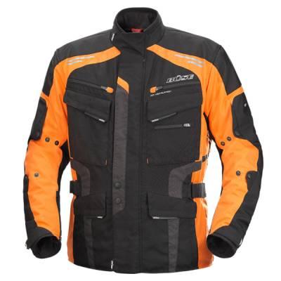 Büse Jacke Torino Evo, schwarz-orange