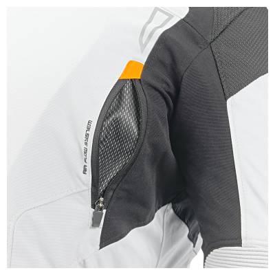 Büse Open Road Evo Textiljacke, hellgrau-schwarz
