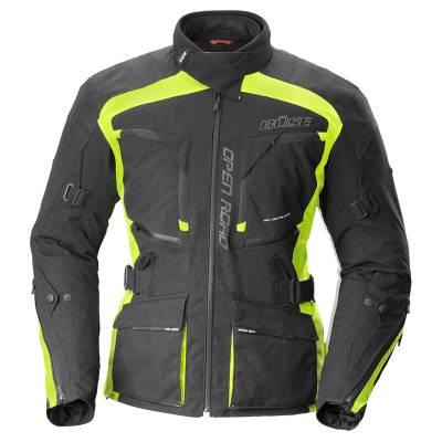 Büse Open Road Evo Textiljacke, schwarz-neongelb