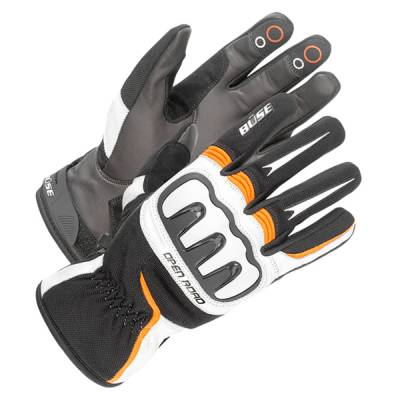 Büse Open Road Sport Handschuh, schwarz-orange