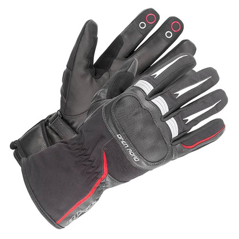 Büse Open Road Touring Handschuh schwarz-rot