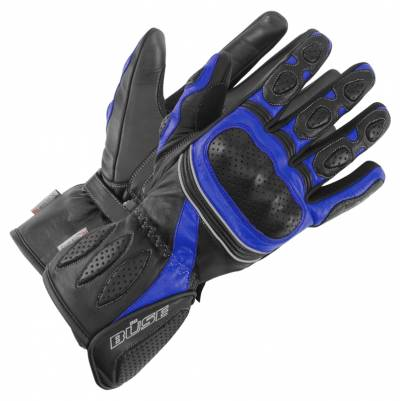 Büse Pit Lane Handschuhe, schwarz-blau