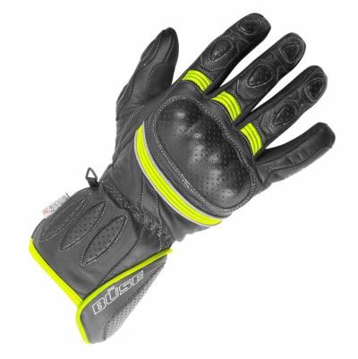 Büse Pit Lane Handschuhe, schwarz-gelb