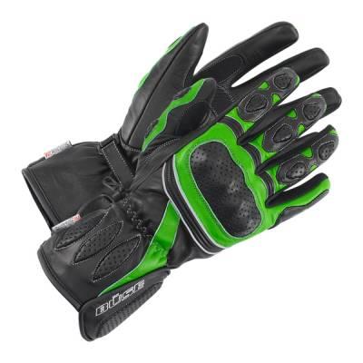 Büse Pit Lane Handschuhe, schwarz-grün