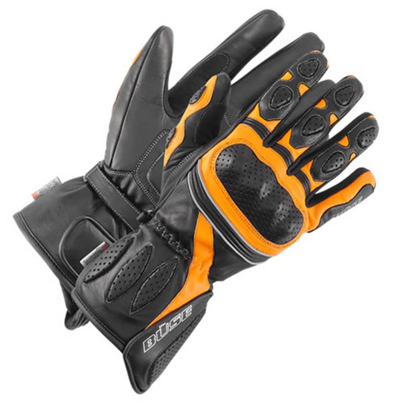Büse Pit Lane Lady Handschuhe, schwarz-orange