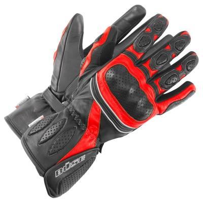 Büse Pit Lane Lady Handschuhe, schwarz-rot