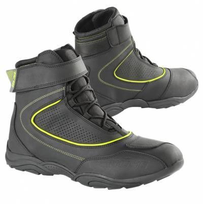 Büse Schuhe B57, schwarz-fluogelb