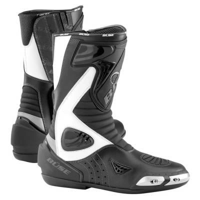 Büse Stiefel Sport, schwarz-weiß