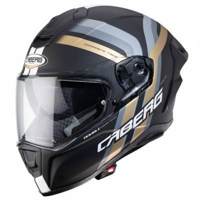 Caberg Helm Drift Evo Vertical, schwarz-grau-gold-matt