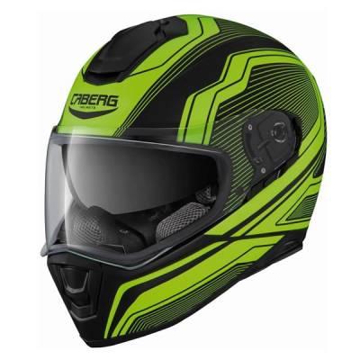 Caberg Helm Drift Flux, schwarz-gelb-matt