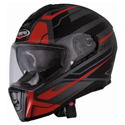 Caberg Helm Drift Shadow, gun-schwarz-rot-matt