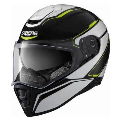 Caberg Helm Drift Tour, schwarz-weiß-gelb