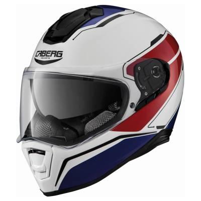 Caberg Helm Drift Tour, weiß-rot-blau