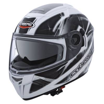 Caberg Helm Ego Ultralight, weiß-silber