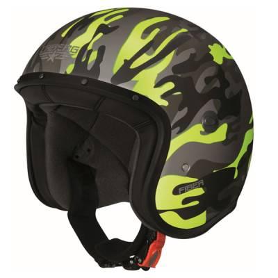 Caberg Helm Freeride Commander, schwarz-gelb-matt
