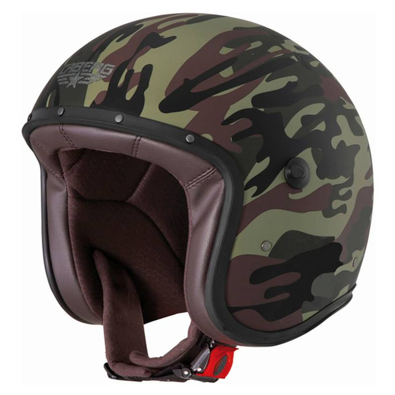 Caberg Helm Freeride Commander, schwarz-grün-matt
