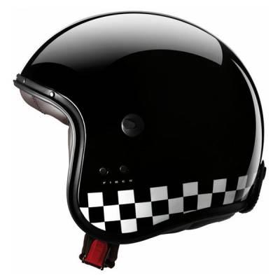 Caberg Helm Freeride Indy, schwarz-weiß