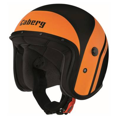 Caberg Helm Freeride Mistral, schwarz-orange-matt