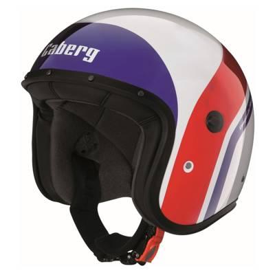 Caberg Helm Freeride Mistral, weiß-blau-rot