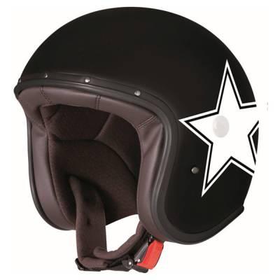 Caberg Helm Freeride Star, schwarz-weiß-matt