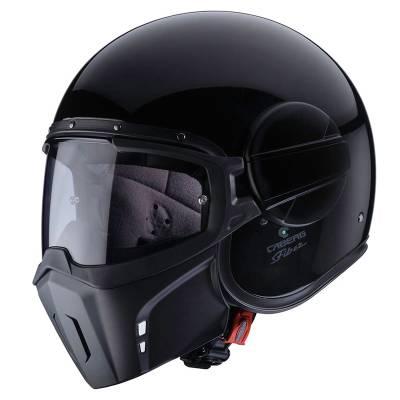 Caberg Helm Jet Ghost, schwarz