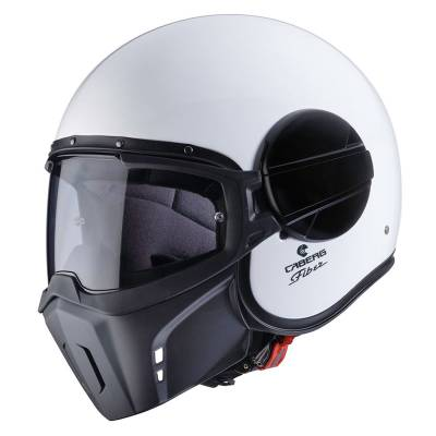 Caberg Helm Jet Ghost, weiß