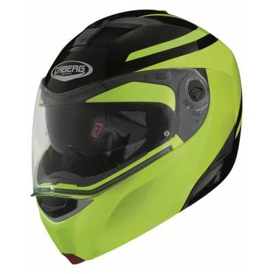 Caberg Helm Modus Dual Hi Vizion, gelb-schwarz
