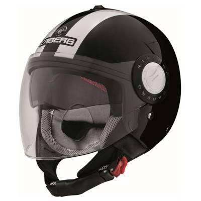 Caberg Helm Riviera V3 Legend, schwarz-weiß