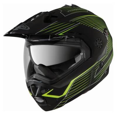 Caberg Helm Tourmax Sonic, schwarz-gelb-matt