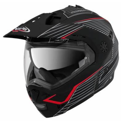 Caberg Helm Tourmax Sonic, schwarz-rot-matt