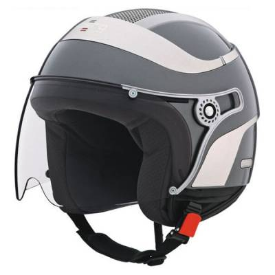 Caberg Helm Uno, gun-metallic