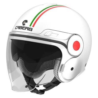Caberg Helm Uptown Italia, weiß-grün-rot