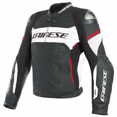 Dainese Airbag-Jacke Racing 3 D-Air, schwarz-weiß-rot