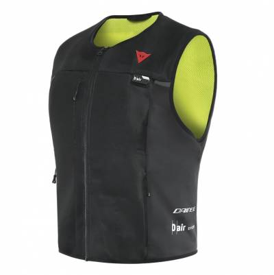 Dainese Airbag-Weste Smart Jacket, schwarz-fluogelb