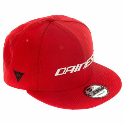Dainese Cap 9Fifty Wool Snapback, rot