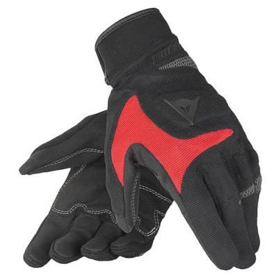Dainese Handschuh Desert Poon, schwarz-rot-anthrazit