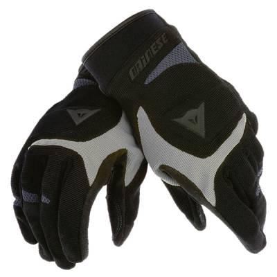 Dainese Handschuh Desert Poon, schwarz-silber-antr.
