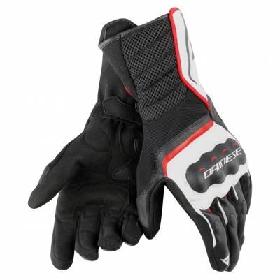 Dainese Handschuhe Air Fast, schwarz-weiß-rot