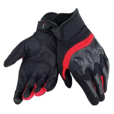 Dainese Handschuhe Air Frame, schwarz-rot