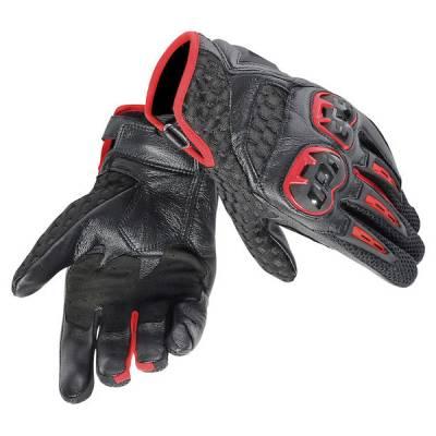 Dainese Handschuhe  Air Hero, rot-schwarz