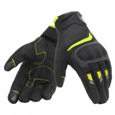 Dainese Handschuhe Air Master, schwarz-fluogelb