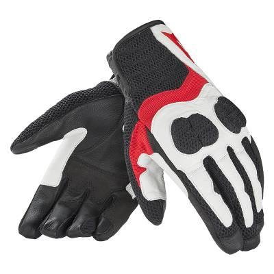 Dainese Handschuhe Air Mig, schwarz-weiß-rot